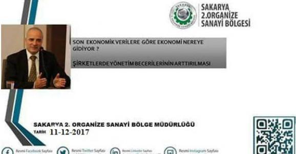 2.OSB'DE EKONOMİ NEREYE GİDİYOR TOPLANTISI YAPILACAK