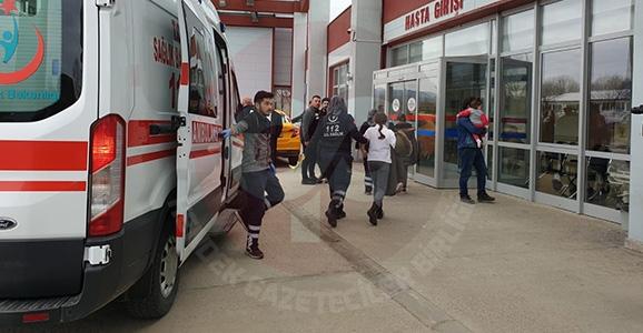4 Öğrenci Hastaneye Kaldırıldı