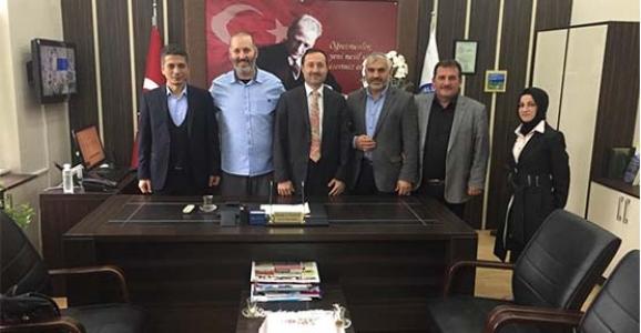 Ahmet Özsoy İmam Hatip Ortaokulundan Çuhadar'a Ziyaret