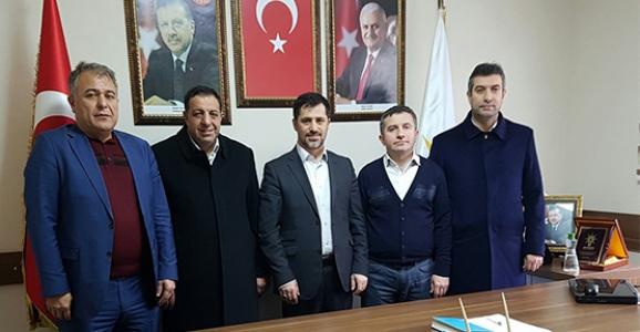 AK İSTANBUL'DAN AK PARTİ HENDEK'E ZİYARET
