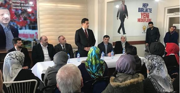 Ak Parti Hendek İlçe teşkilatına yeni başkan
