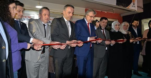 Ak Parti Yeni Mahalle Seçim Bürosu Açıldı