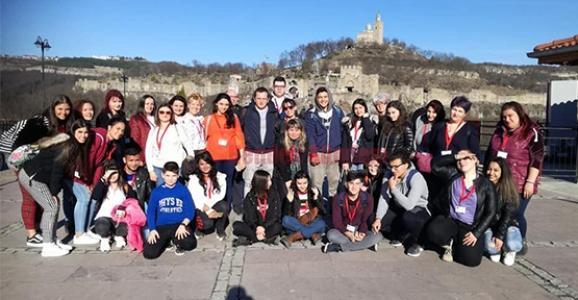 Atike Hanım Anadolu Lisesi Bulgaristan'da