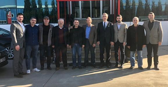 Babaoğlu'ndan 2. OSB ve Kooperatif Ziyaretleri