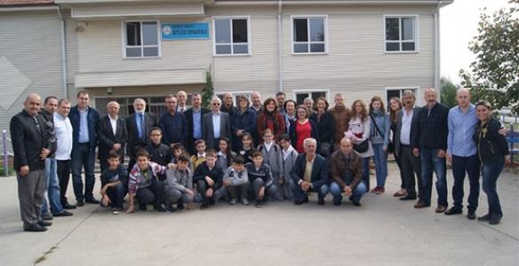 BEYLİCE ORTAOKULUNDA  ABAZACA DERS ZİLİ ÇALDI
