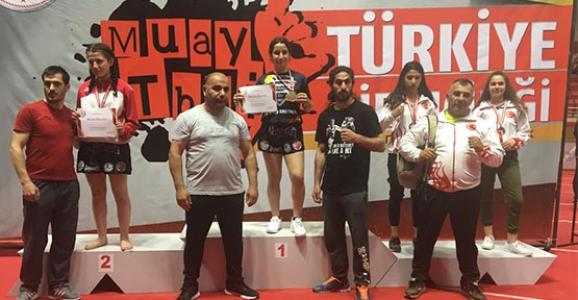 Beyza Ece Tokat 54 kg'da Türkiye 3.sü Oldu