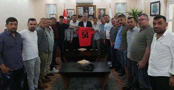 Boğazspor'dan Babaoğlu'na Ziyaret