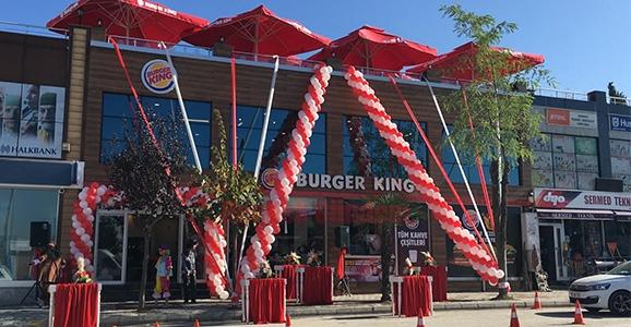 Burger Kıng Açıldı