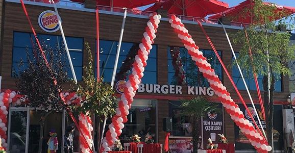 Burger Kıng Açılıyor