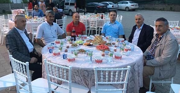 Burhan Dereköy'e Misafir Oldu