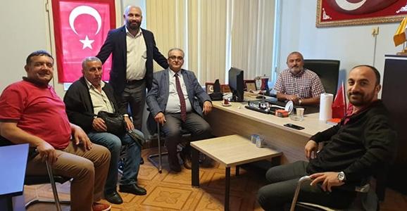 Büyü'den Hendekli Gazetecilere Ziyaret