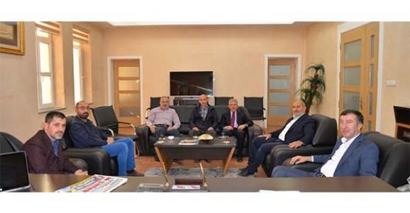 Çelik'ten Başkan Püsküllü'ye Ziyaret