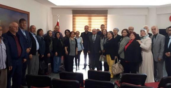 CHP HENDEK'TEN İYİ PARTİYE ZİYARET