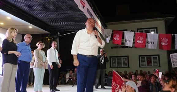 CHP Sakarya Milletvekili Adayları Hendeklilere Tanıtıldı