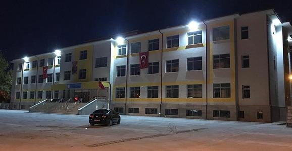 Cumhuriyet İlkokulu Gün Sayıyor