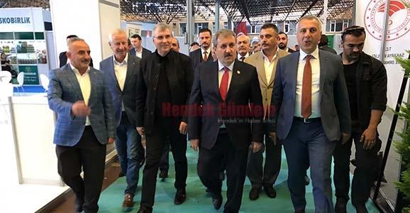 Destici Hendek'te Belediye Başkanları Toplantısına Katıldı
