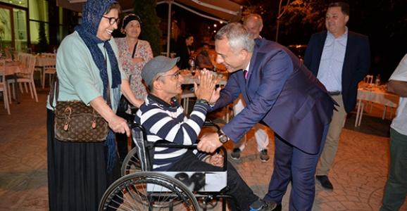 Engelliler Haftasında İftarda Buluştular