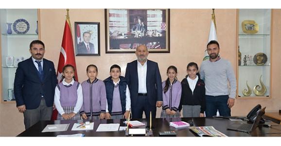 Fatih İlköğretim Okulu öğrencilerinden ziyaret