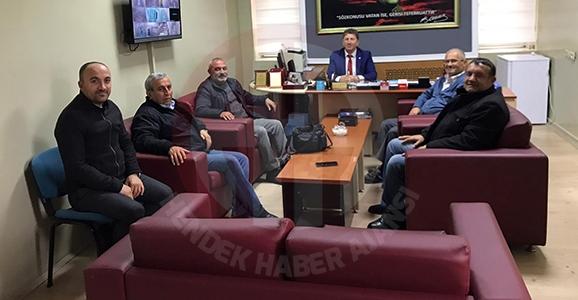 Gazeteciler'den Dayıoğlu'na Hayırlı Olsun Ziyareti