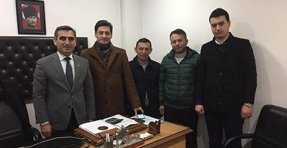 Hendek AKP'den CHP'ye Hayırlı olsun Ziyareti