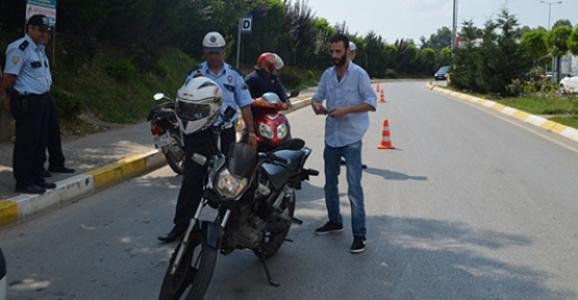 Hendek Emniyetinden Motosiklet Uygulamaları