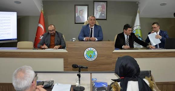Hendek Meclisi 16 Maddeyi Karara Bağladı