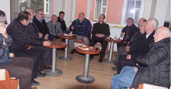 HENDEK MUHTARLARINDAN CHP ZİYARET