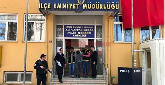 HENDEK POLİSİNİN DİKKATİNDEN KAÇMADI