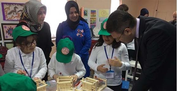 Yeniyüzyıl İlkokulu'nda Tasarım ve Beceri Atölyesi Açıldı