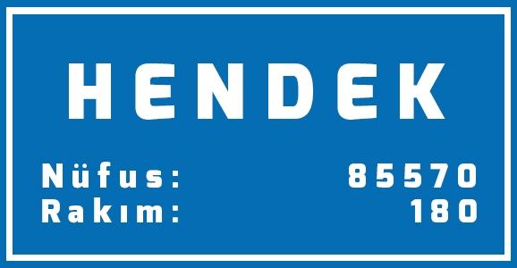 Hendek'in Nüfusu 85.570