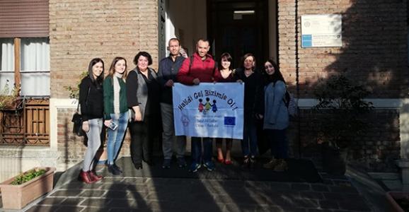 Hendekli Öğretmenler Milano'da