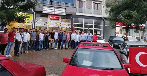 Hendek'li Otomobil Tutkunları Buluştu