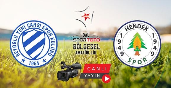 Hendekspor Beyoğlu Deplasmanına Hazır