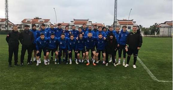 Hendekspor'da ikinci yarı hazırlıkları sürüyor