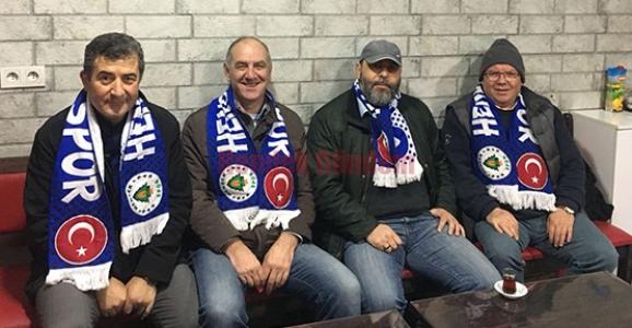 HENDEKSPOR'LULAR MAÇ SAATİNİ BEKLİYOR