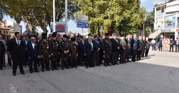 Hendek'te Gaziler Günü Kutlandı