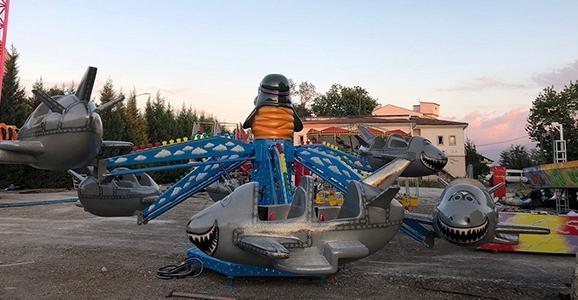 Hendek'te Lunapark Açılıyor