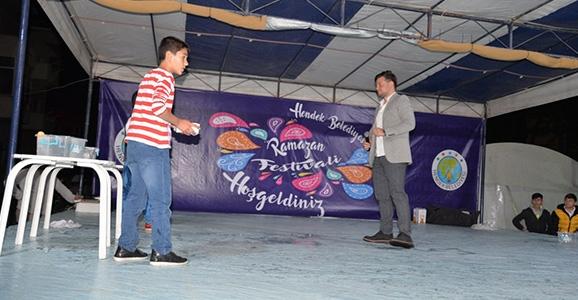 Hendek'te Ramazan Bir Başka Güzel
