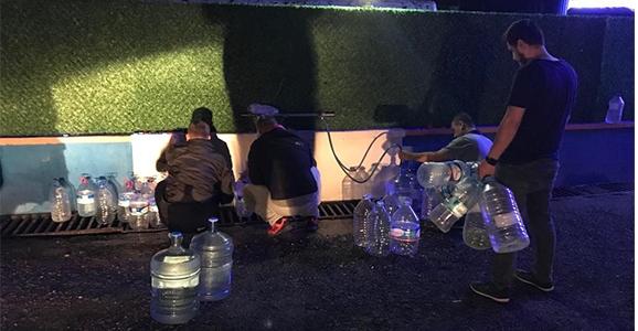 Hendek'te Su Musluktan İçilemiyor