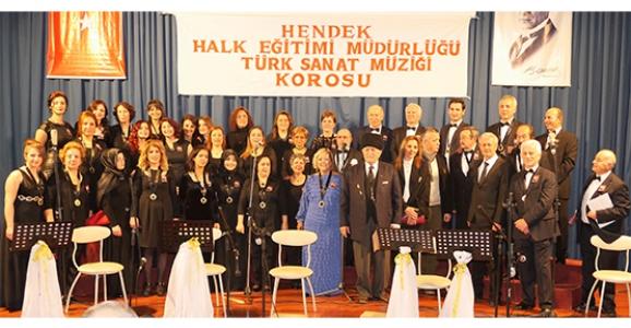 HENDEK'TE TÜRK SANAT MÜZİĞİ KONSERİ