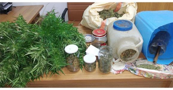 Hendek'te Uyuşturucu Operasyonu