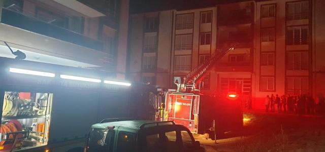 Hendek'te Yangın 1 Yaralı