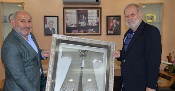 İsen'den Başkan Püsküllü 'ye Ziyaret