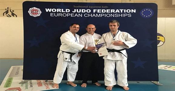 Judo Avrupa Şampiyonasına Yıldız ve Ersoy Damga Vurdu