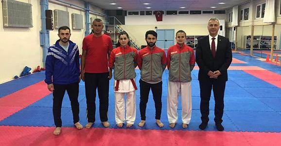 Karatecilerimiz Dünya Yıldızları İle Yarışıyor
