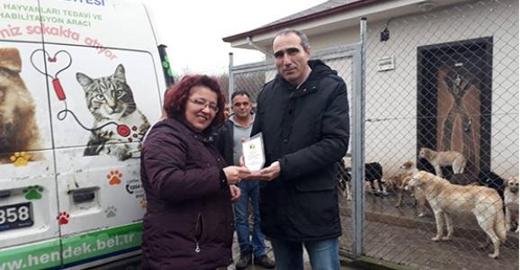 KİHAYKO Hendek Hayvan Barınağını Ziyaret etti