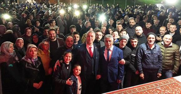 Köprübaşı Babaoğlu'nu Başkan Gibi Karşıladı