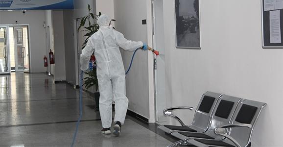 Koronavirüse Karşı Dezenfekte Harekatı