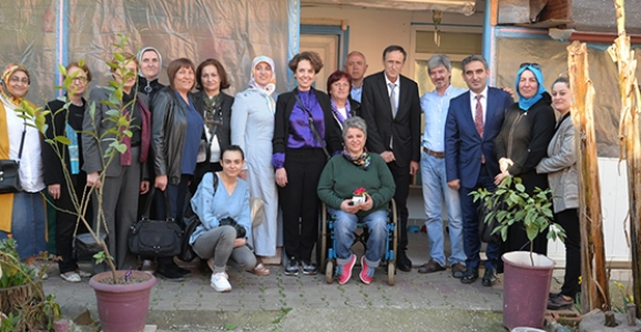Mercan'dan Zerrin Sadıç'a ziyaret