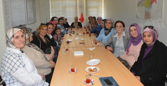 MHP'Lİ KADINLAR ÇALIŞMALARA HIZ VERDİ
